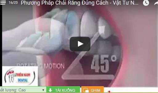 Video Phương Pháp Trải Răng Đúng Cách